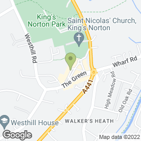 Map of CHAS MANN MOTORCYCLES in Birmingham, west midlands