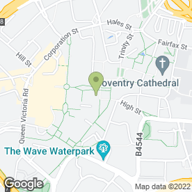 Map of RENAISSANCE in Coventry, west midlands