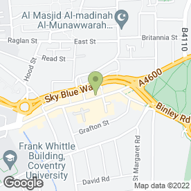 Map of Koko Laser Clinic in Coventry, west midlands
