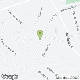 Map of Pauline Beauty Therapist in Shirley, Solihull, west midlands
