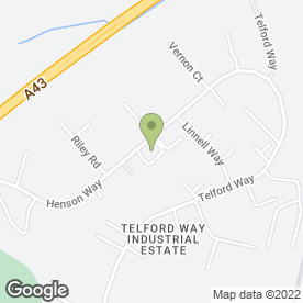 Map of Creative Kitchens in Telford Way Industrial Estate, Kettering, northamptonshire
