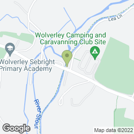 Map of The Lock Inn in Wolverley, Kidderminster, worcestershire