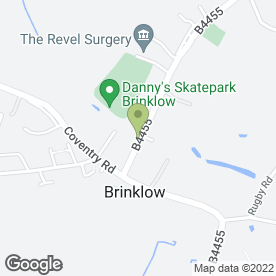 Map of SPOSA in Brinklow, Rugby, warwickshire