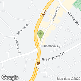Map of KNIGHTS FRAGRANCES in Northfield, Birmingham, west midlands
