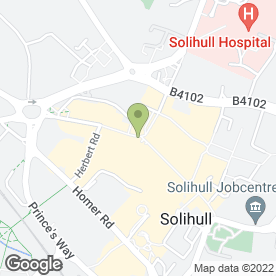 Map of The Firm Solicitors LLP, in Solihull, west midlands
