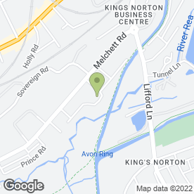 Map of Burke Bros Moving Group in Birmingham, west midlands