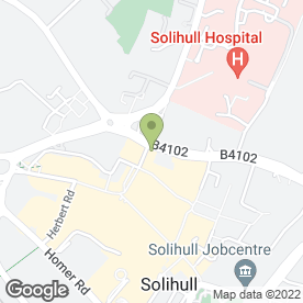 Map of Subway Sandwiches in Solihull, west midlands