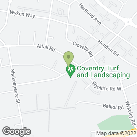 Map of Jane's Beautique in Coventry, west midlands