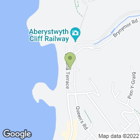 Map of Aber Heating Engineers in Aberystwyth, dyfed