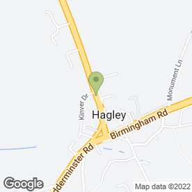 Map of Hagley Digital Aerials in Stourbridge, west midlands