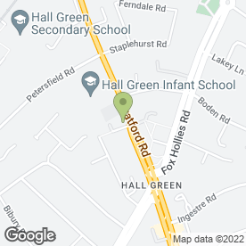 Map of Car Spares Distribution Ltd in Hall Green, Birmingham, west midlands