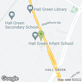Map of National Tyres and Autocare in Hall Green, Birmingham, west midlands