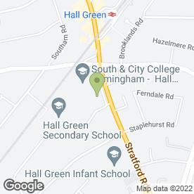 Map of Print Xpress in Hall Green, Birmingham, west midlands