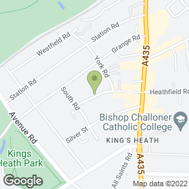 Map of BALLOON AWAY in Kings Heath, Birmingham, west midlands