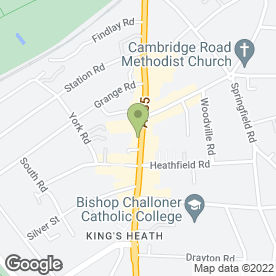 Map of Celltech (Salcom Technical Limited) in Kings Heath, Birmingham, west midlands