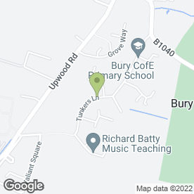 Map of Pilkington Building Ltd in Ramsey, Huntingdon, Cambridgeshire, cambridgeshire