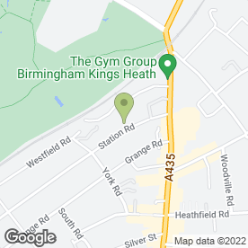 Map of MEDINA SCHOOL OF MOTORING in BIRMINGHAM, west midlands