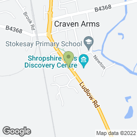 Map of Mike Clarke Driving Instructor in Craven Arms, shropshire
