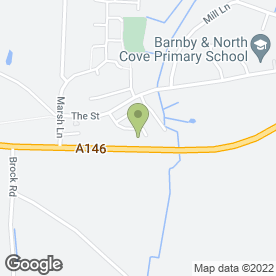 Map of Waveney Plant Hire & Groundworks Ltd in North Cove, Beccles, suffolk