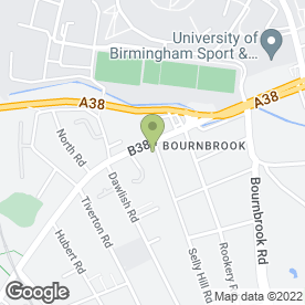 Map of Appliance Repair Centre in Selly Oak, Birmingham, west midlands