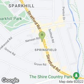 Map of Delux Domestic Appliances in Sparkhill, Birmingham, west midlands