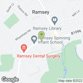 Map of Diahann Berridge Semi Permanent Make-Up in Ramsey, Huntingdon, cambridgeshire