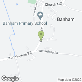 Map of Prime Security Systems in Banham, Norwich, norfolk