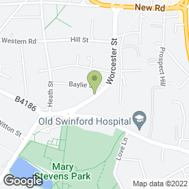 Map of 24hr Emergency Plumbing in Stourbridge, west midlands
