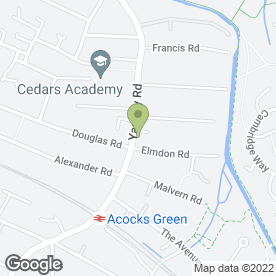 Map of Ideal Grafix Ltd in Acocks Green, Birmingham, west midlands