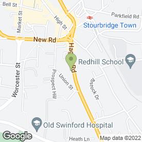 Map of Peugeot - Evans Halshaw - Stourbridge in Stourbridge, west midlands