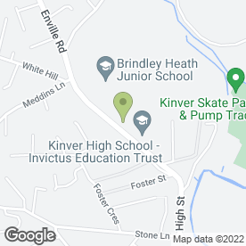 Map of Kinver Pre School Playgroup in Kinver, Stourbridge, west midlands