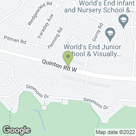 Map of Malcolm Decorators in Quinton, Birmingham, west midlands