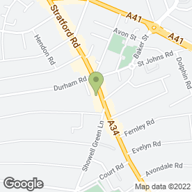 Map of MEDICAL LASER & SKIN CLINIC in Sparkhill, Birmingham, west midlands