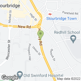 Map of Silverlounge in STOURBRIDGE, west midlands