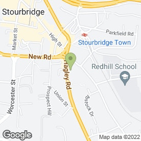 Map of Desire Night Club in Stourbridge, west midlands