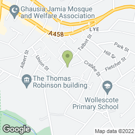 Map of Lye Motor Factors Ltd in Stourbridge, west midlands