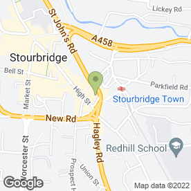 Map of NIKKI CS HAIR STUDIO in Stourbridge, west midlands