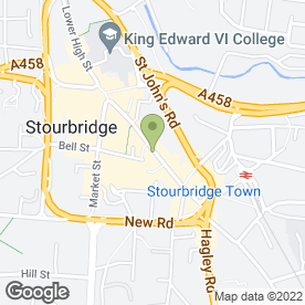 Map of Bella Boo Ladies Wear in Stourbridge, west midlands