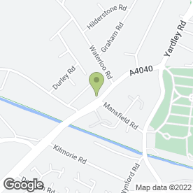 Map of J.C Motorcycles in Yardley, Birmingham, west midlands