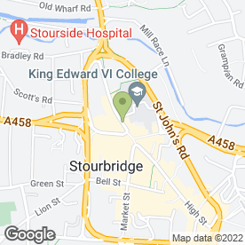 Map of Suites Galore Studio in STOURBRIDGE, west midlands