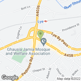 Map of Motor Spares Plus in Lye, Stourbridge, west midlands