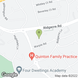 Map of MPT Plumbing & Gas Services in Birmingham, west midlands