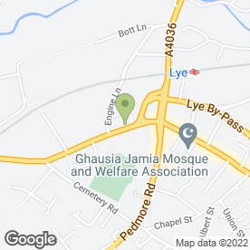 Map of Stourbridge Shop Equip Ltd in Stourbridge, west midlands