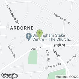 Map of HLS Trading Ltd T/a Ristorante Vesuvio in Birmingham, West Midlands, west midlands
