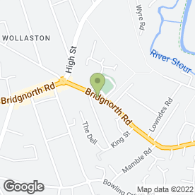 Map of A.K. Duncan - The Veterinary Surgery in Wollaston, Stourbridge, west midlands