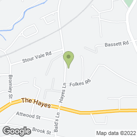 Map of Avanti Kitchens & Bedrooms in Stourbridge, west midlands