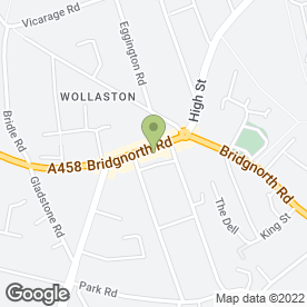Map of Angel Cake in Wollaston, Stourbridge, west midlands
