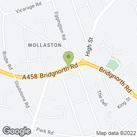 Map of The Princess in Wollaston, Stourbridge, west midlands