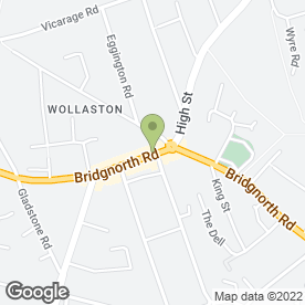 Map of Morgan & Co in Wollaston, Stourbridge, west midlands