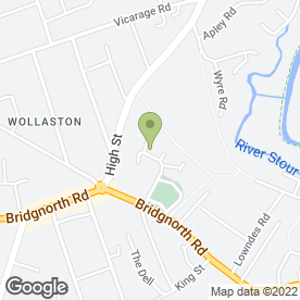 Map of Allsafe Plumbing & Heating Ltd in Wollaston, Stourbridge, west midlands